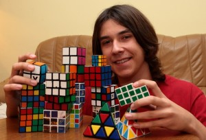 Michal Pleskowicz rubik cube