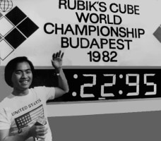 speedcubing minh thai champion monde
