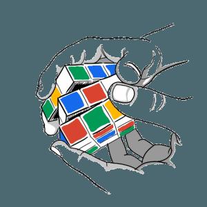 pratiquer le rubiks cube