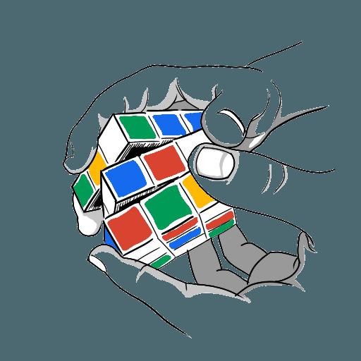 Rubik's cube Blindfolded practice