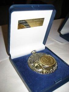 Trophee medaille champion speedcubing