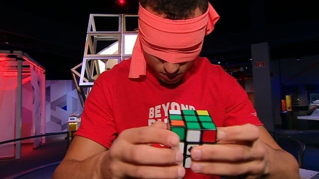 Rubik's cube Blindfolded Pochmann method