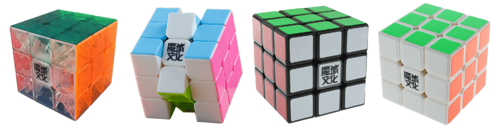 couleurs rubiks cube Moyu WeiLong v2