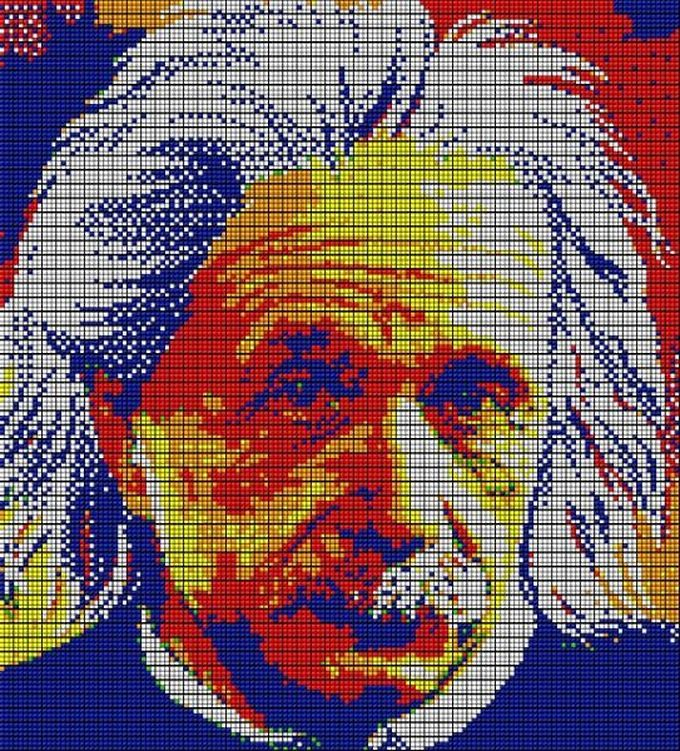 inter rubik mosaique einstein