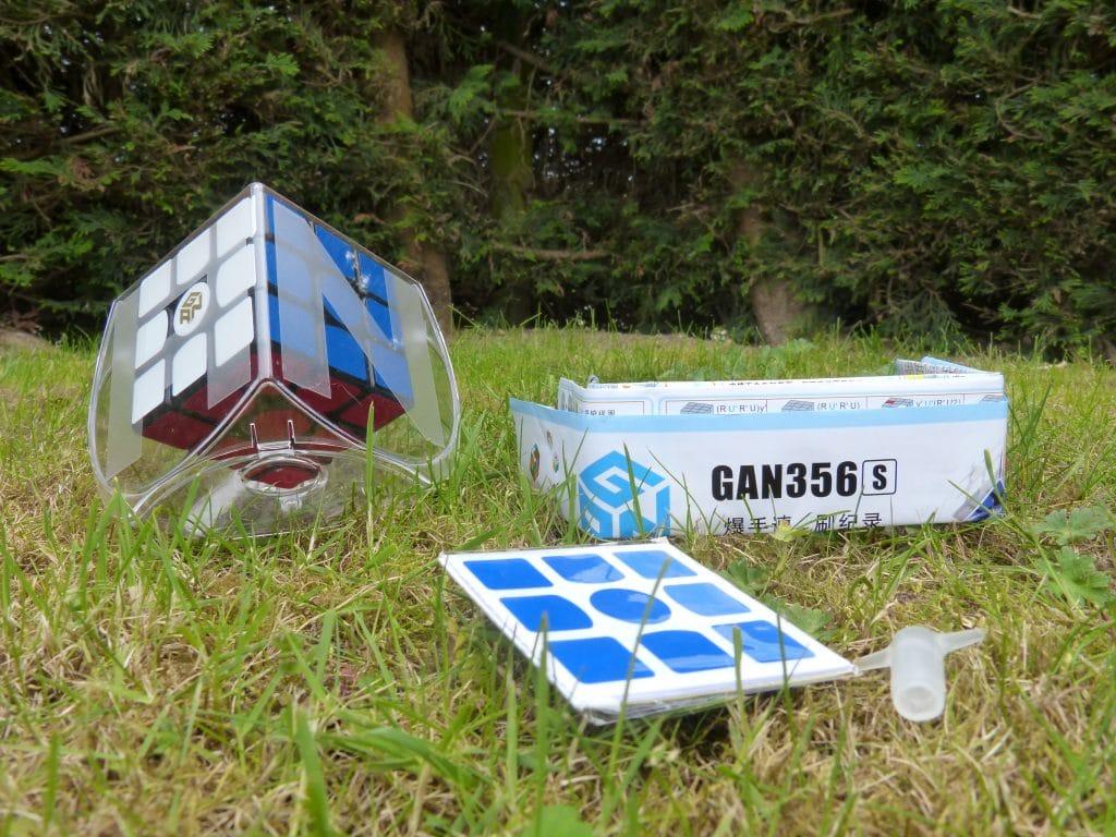 rubiks cube gans 356 contenu emballage