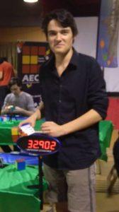 Clément Cherblanc speedcubing