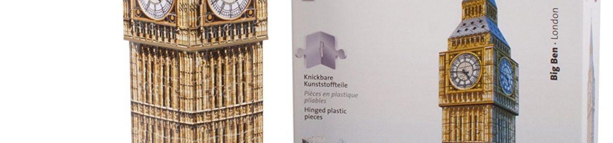 Test et avis sur le puzzle 3D Ravensburger Big Ben