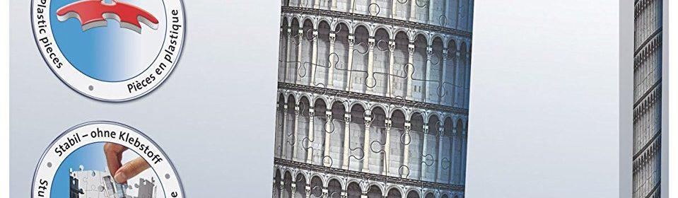 Test et avis sur le puzzle 3D Tour de Pise de chez Ravensburger