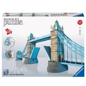 Ravensburger 12559 Tower Bridge Londres puzzle 216 pieces.