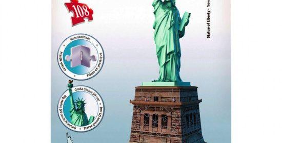 Test et avis sur le puzzle 3D Ravensburger Statue de la Liberté