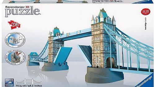 Le puzzle 3D Ravensburger Tower Bridge Londres : test et avis