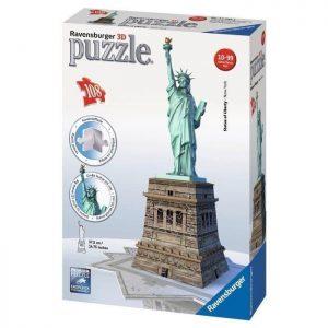 ravensburger puzzle 3d statue de la liberte