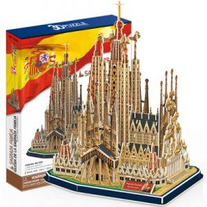 puzzle 3D de monuments