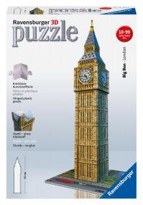 puzzle 3D de monuments big ben