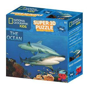 puzzle 3D pour enfant National Geographic NG10800 Puzzle 3D pour enfant