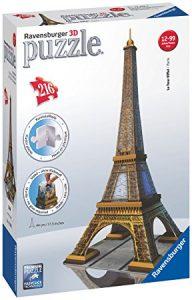 Ravensburger 12556 - La Tour Eiffel puzzle 3d