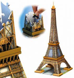 Ravensburger 12556 - La Tour Eiffel puzzle 3d de monuments