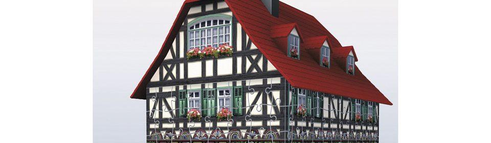 Test et avis sur puzzle 3D Ravensburger Maison À Colombages