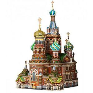 puzzle 3D de monuments Keranova