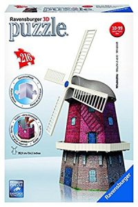 puzzle 3D Ravensburger-Ravensburger - 12 563 - Moulin À Vents