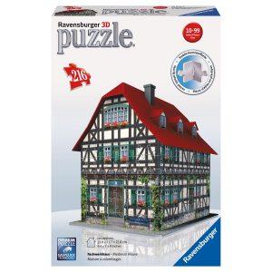 puzzle 3D Ravensburger-Ravensburger - 12 572 - Maison À Colombages