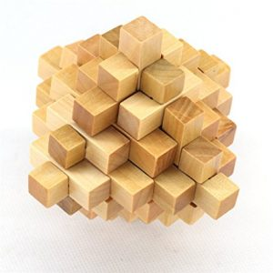 puzzle 3D pas cher Holzsammlung Puzzle En Bois - Brain Teaser Puzzle 3D - #5