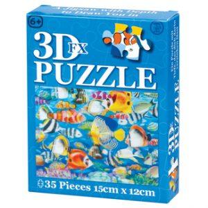 puzzle 3D poue enfant