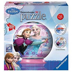puzzle 3D pour enfant la Ravensburger - 12 214 Reine des Neiges.