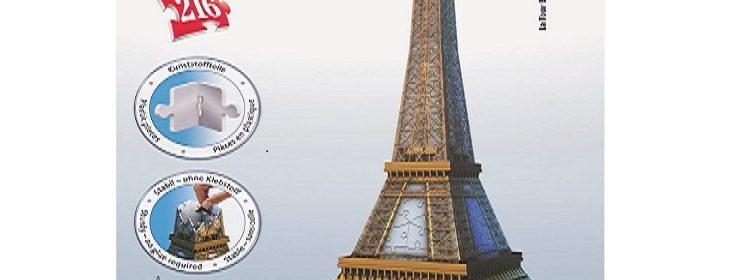 Test et avis sur le puzzle 3D Tour Eiffel de Ravensburger