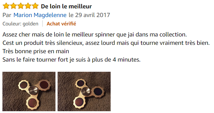 hand spinner avis amazon
