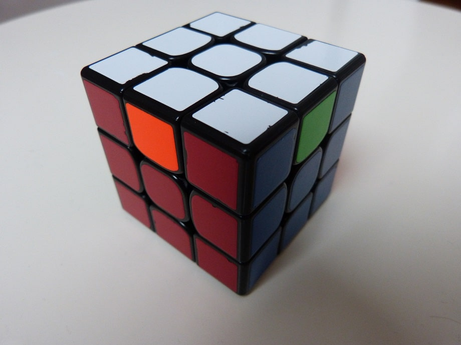 PLL H Rubik's cube