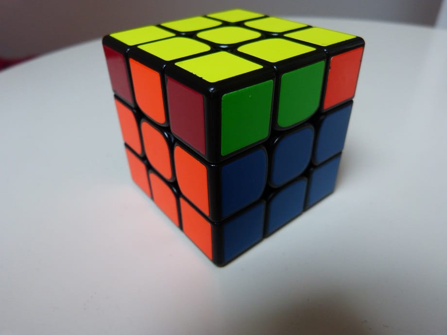 AUF Rubik's cube