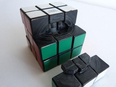 Rubik's cube de 1980 démonté